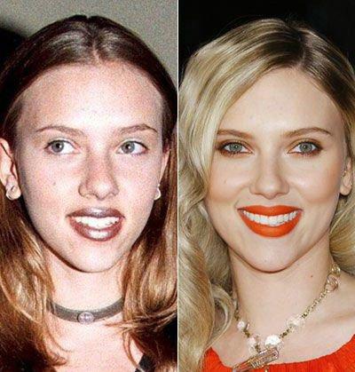 Scarlett Johansson : Les stars jeunes et maintenant