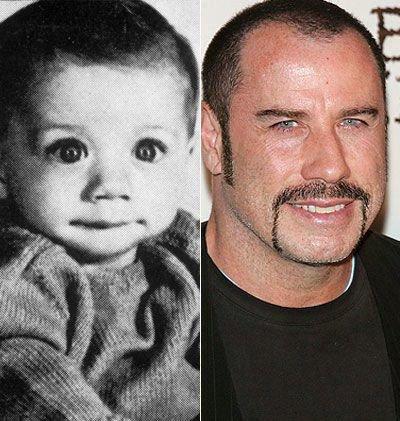 John Travolta : Les stars jeunes et maintenant