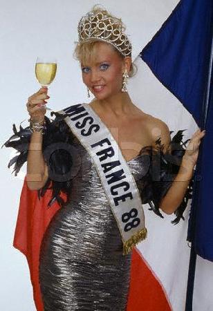 Sylvie Bertin : Miss France 1988
