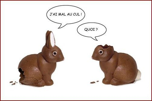 Pâques : humour