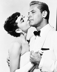 Audrey Hepburn et William Holden : 1954