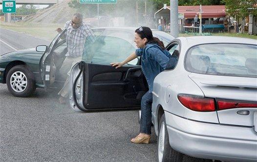 Cauchemar classique : Avoir un accident de voiture