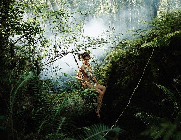 Calendrier 2011 : Les guerrières sexy pour sauver la forêt