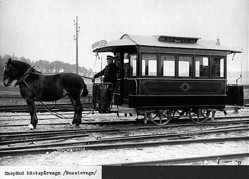 Tramways : Les premiers
