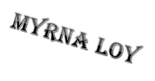 Myrna Loy : Gif
