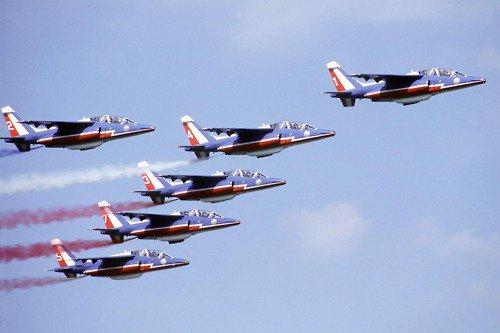 Patrouille de France : Les pilotes