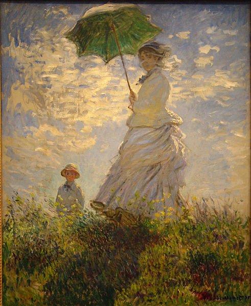 Claude Monet : La promenade