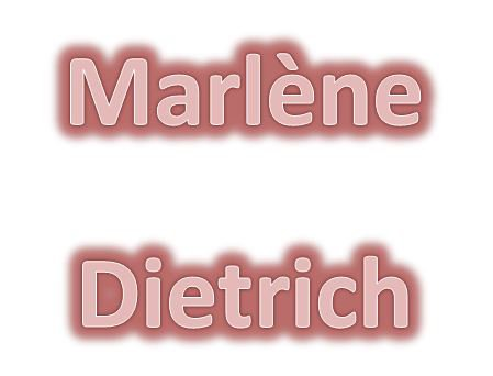 Marlène Dietrich : Falling in love again (Parole)