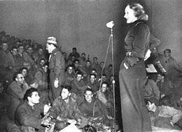 Marlène Dietrich : Elle s'engage dans l'armée américaine