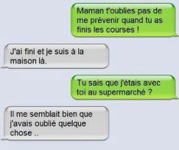 Humour sms