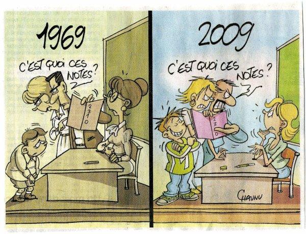 Les temps changent ...............