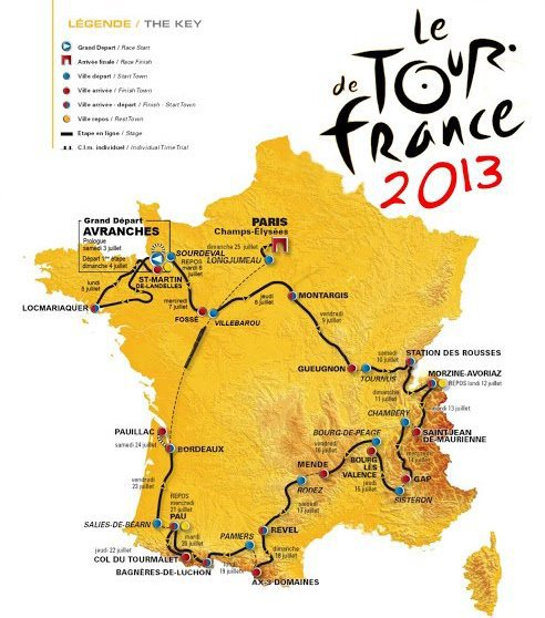 Tour de France 2013 : Les gains du cyclisme