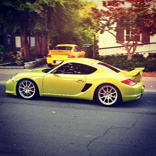 Porsche GT3 n ° caïman