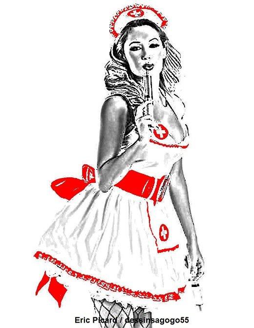 Infirmière : dessinsagogo55