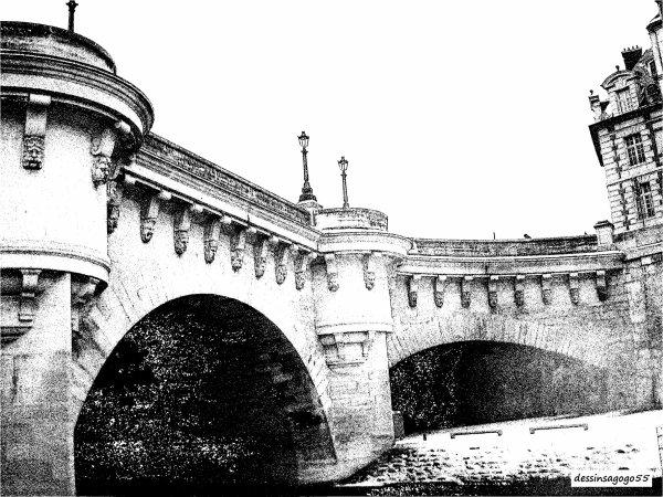 Paris. Voyage sur la Seine : dessinsagogo55