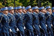 Les unités défilant sur les Champs-Élysées : Unités à pied
