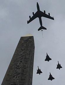 Les unités défilant sur les Champs-Élysées : Unités aériennes