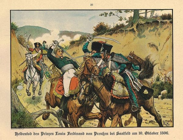 Bataille de Saalfeld