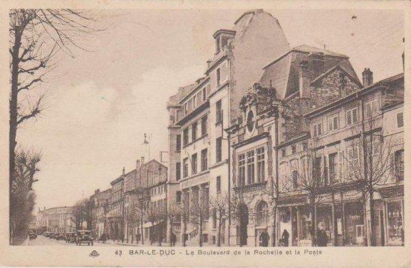 Bar-le-Duc : Boulevard de la Rochelle