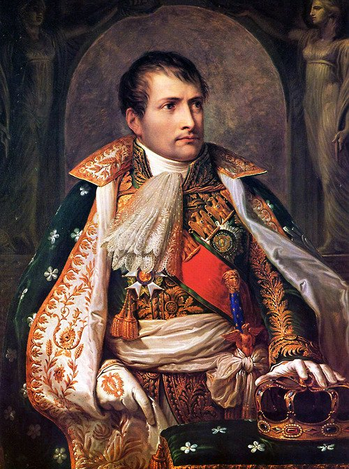 Andrea Appiani : Napoléon comme roi d'Italie