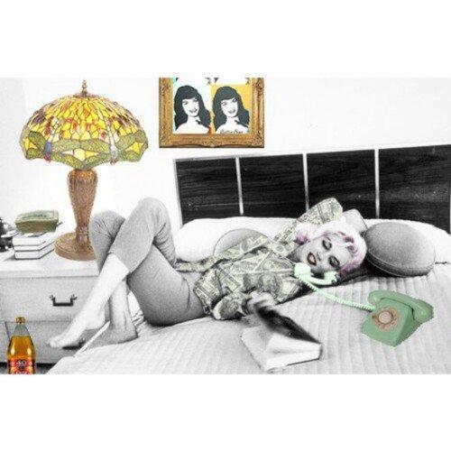 Marilyn Monroe et Bettie Page : Montage