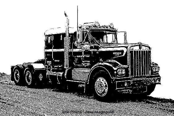 Kenworth T660 : dessinsagogo55