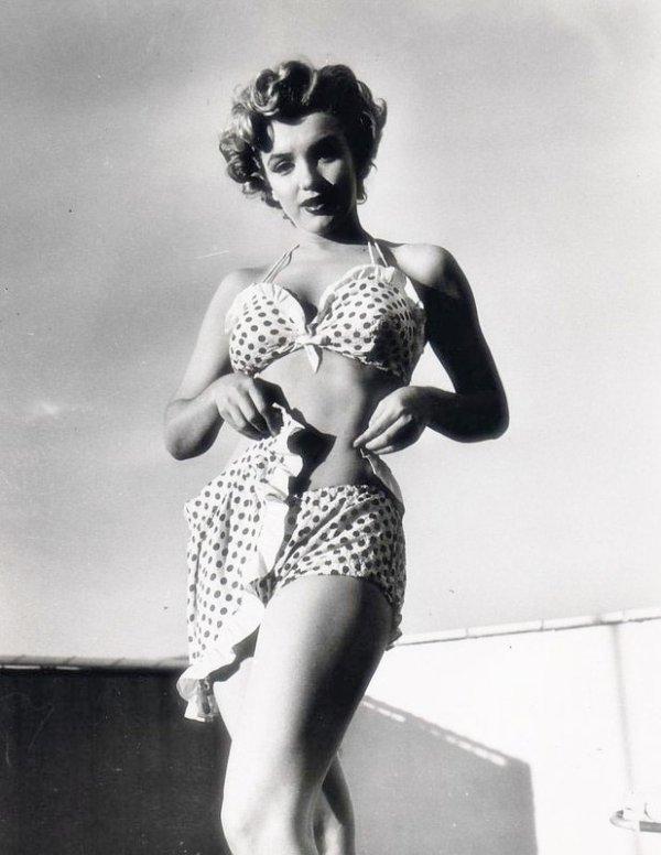 Marilyn Monroe au Beverly Carlton Hôtel 1952