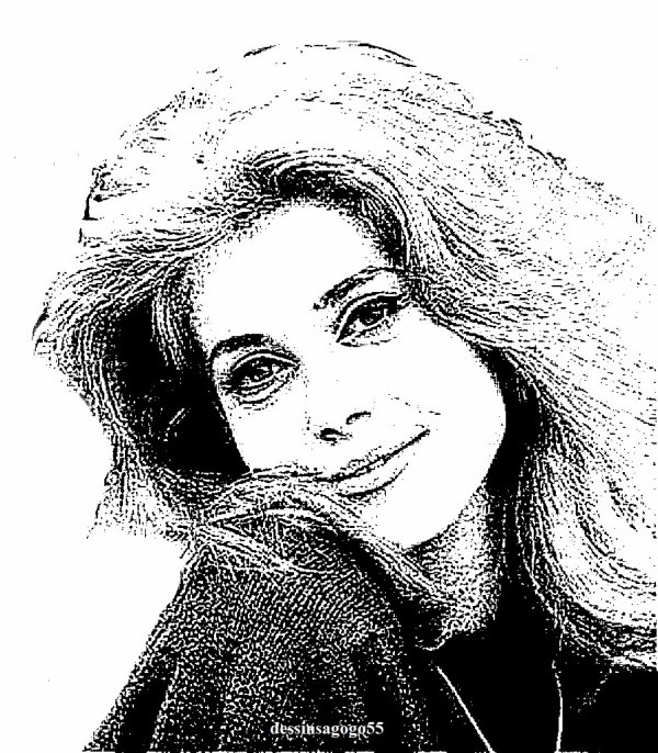Catherine Deneuve : dessinsagogo55