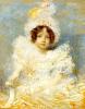 Charles Léandre : Mademoiselle Sybille Achard de Bonvouloir
