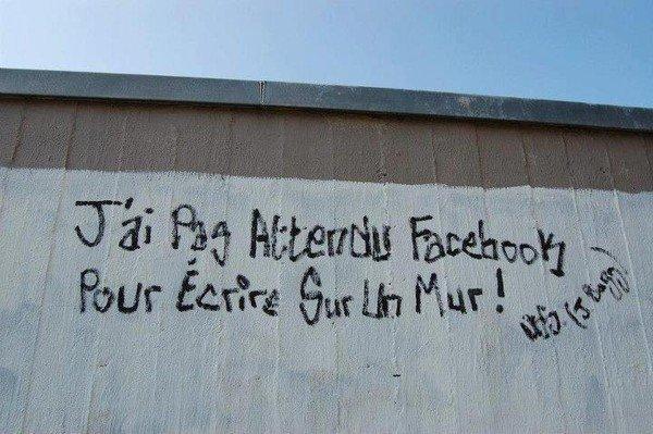 Ecrire sur un mur