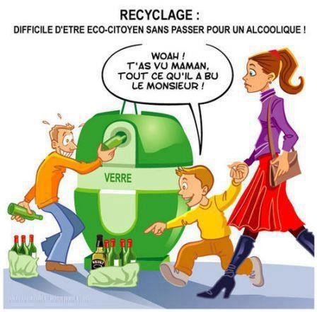 Recyclage...