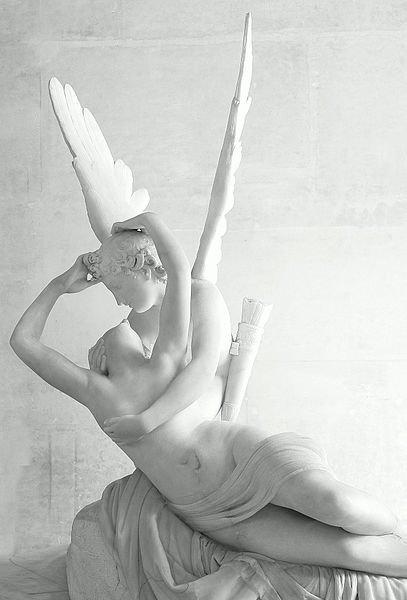 Antonio Canova : Psyché ranimée par le baiser de l'Amour, 1793