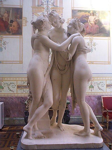 Antonio Canova : Les trois grâces