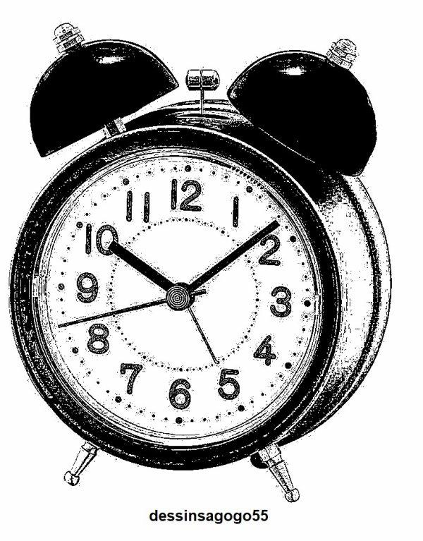Réveille-matin : dessinsagogo55