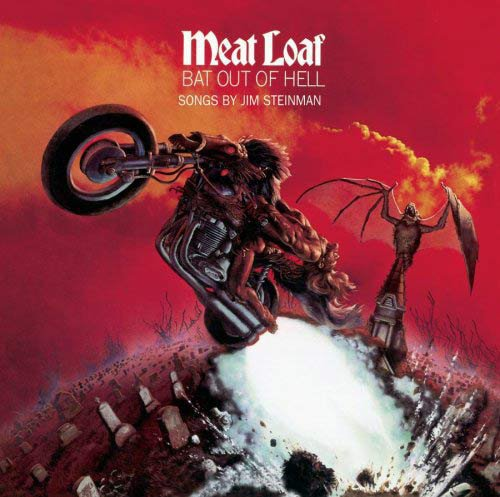 "Album musique les plus vendus au monde :  Meat Loaf "" Bat Out of Hell """