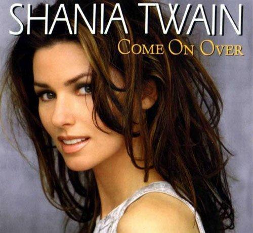 """Shania Twain """" Come on Over """" : Album musique les plus vendus au monde"""