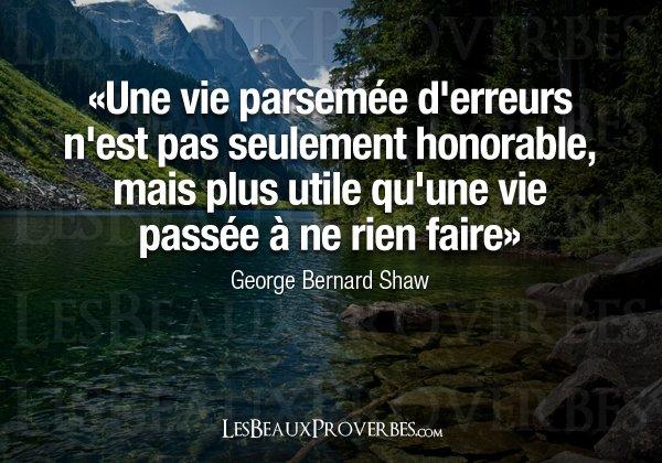 George Bernard Shaw : Les beaux proverbes