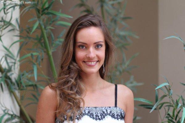 Marie Reintz : Election Miss France 2014 , Miss Bourgogne