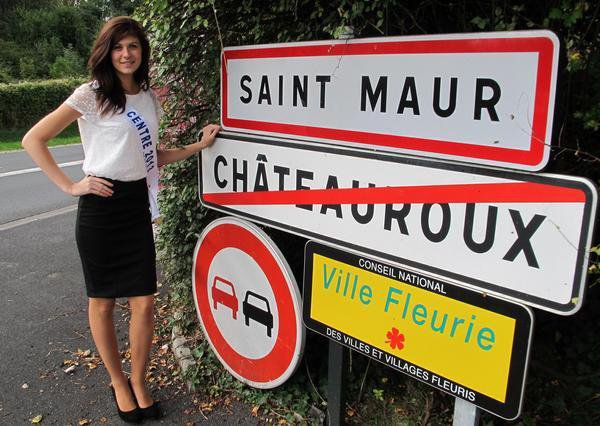 Laure Moreau : Election Miss France 2014 , Miss Centre