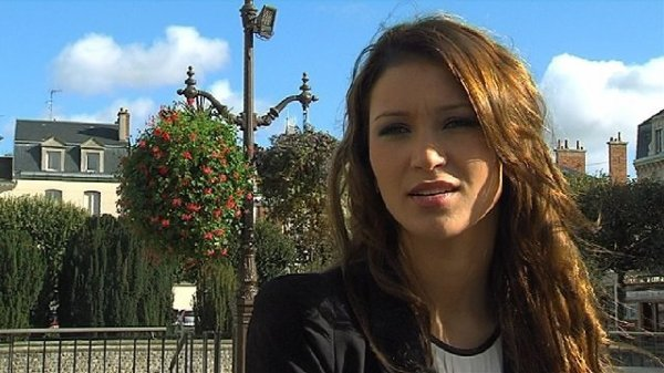 Louise Bataille : Election Miss France 2014 , Miss Champagne Ardenne