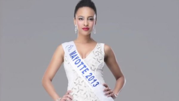 Daniati Yves : Election Miss France 2014 , Miss Mayotte