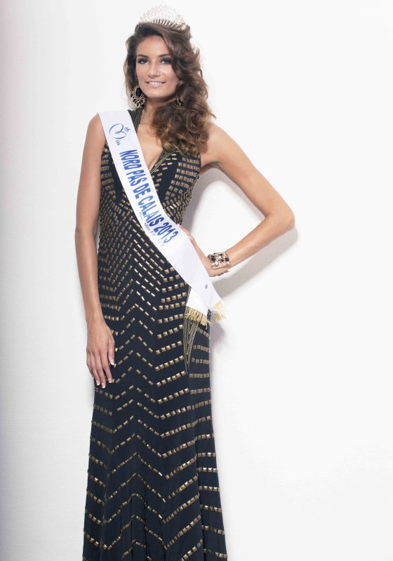 Gaëlle Mans : Election Miss France 2014 , Miss Nord Pas de Calais