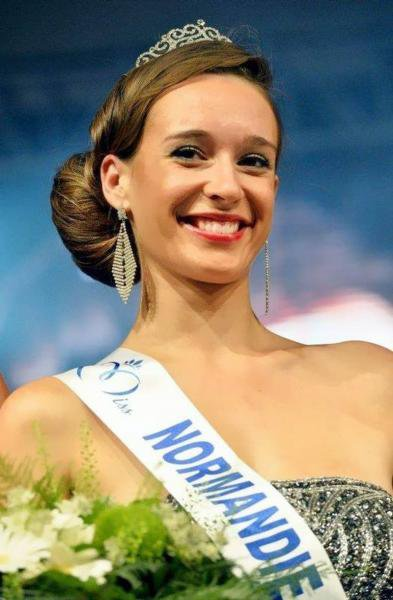 Ophélie Genest : Election Miss France 2014 , Miss Normandie
