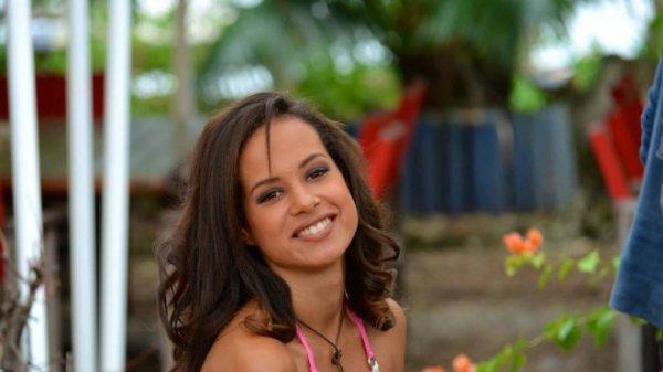 Agnès Latchimy : Election Miss France 2014 , Miss Nouvelle Calédonie