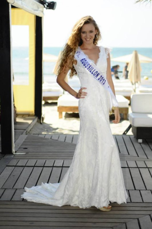 Sabine Banet : Election Miss France 2014 , Miss Roussillon