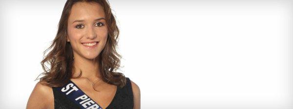 Clio Victorri : Election Miss France 2014 , Miss Pierre et Miquelon