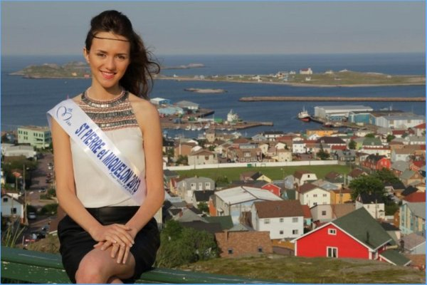 Clio Victorri : Election Miss France 2014 , Miss Pierre et Miquelon