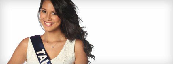 Mehiata Riaria : Election Miss France 2014 , Miss Tahiti