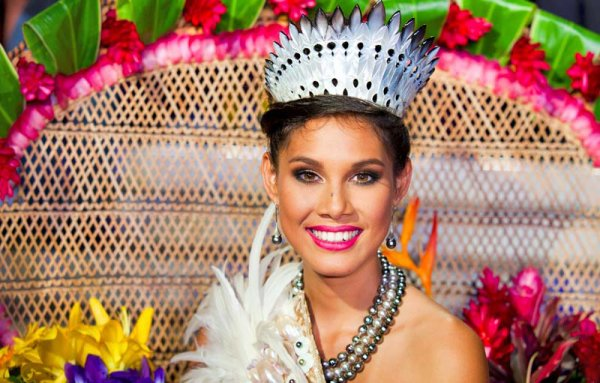 Mehiata Riaria : Election Miss France 2014 , Miss Tahiti