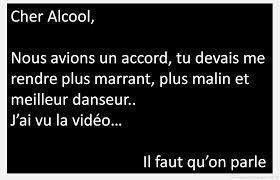 Alcool : humour